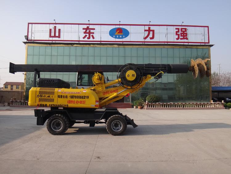 欢迎您到山东滕州购买360度小型旋挖钻机